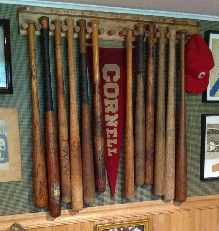 1000 Ideas About Baseball Bat Display On Pinterest