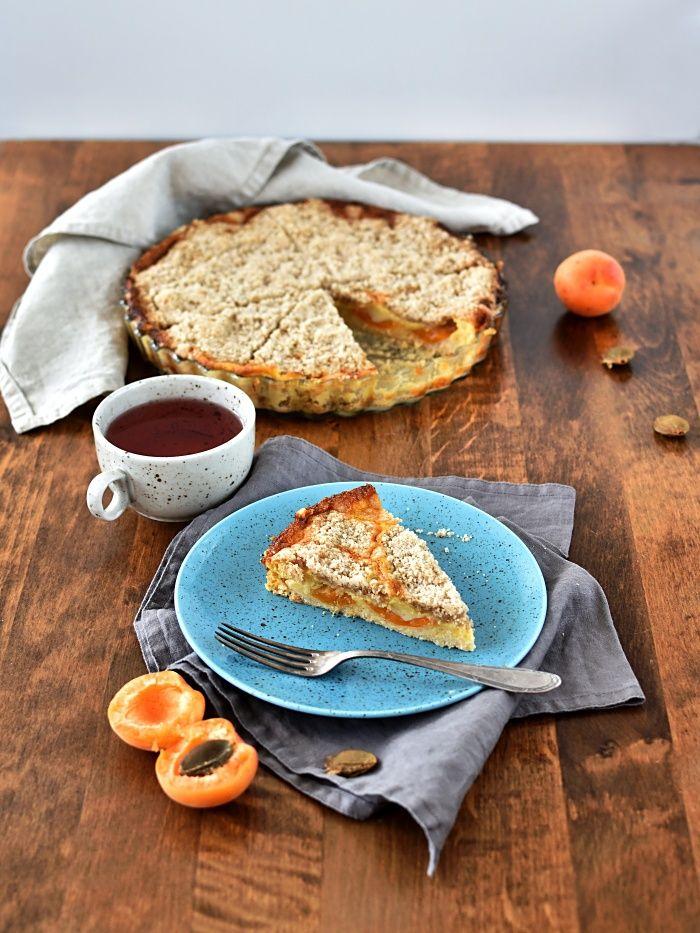 Pradobroty: Drobenkový meruňkový koláč