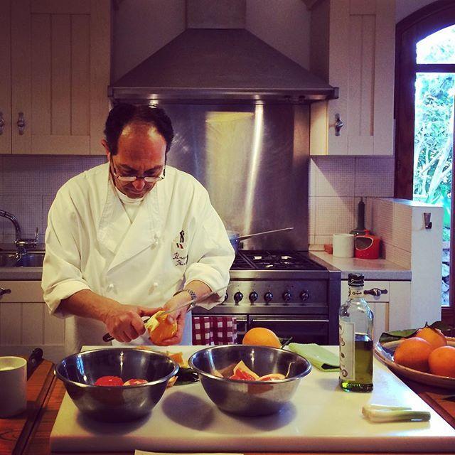 Villa Britannia's chef , Pancrazio , knows the true soul of #sicilian #food ! Grazie !!! #villabritannia #taormina #sicily