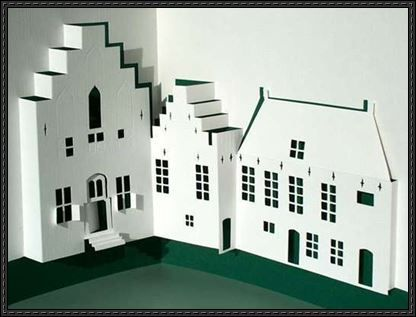 Duitse huis pop up free paper craft pattern download dutch pinterest crafts paper and - Popup huis ...