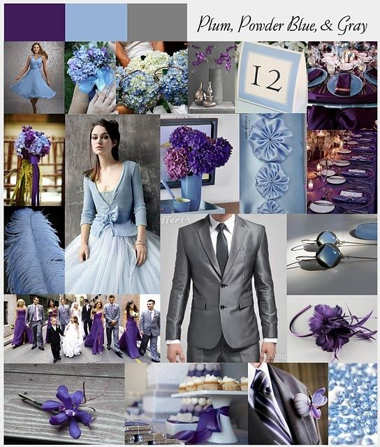 13 Best Plum And Gray Wedding Images On Pinterest