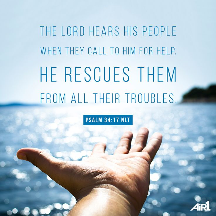The Lord rescues His people.
