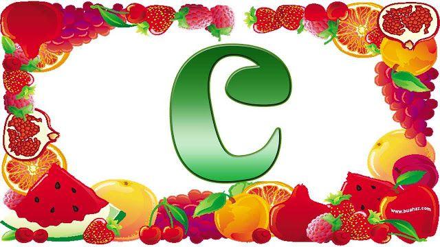 definisi buah dari huruf C