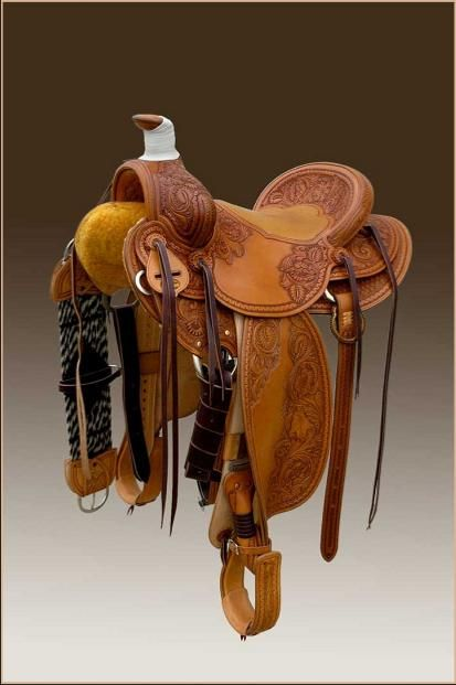 These are works of great craftsmanship and art! Sage Creek Saddles;-SR