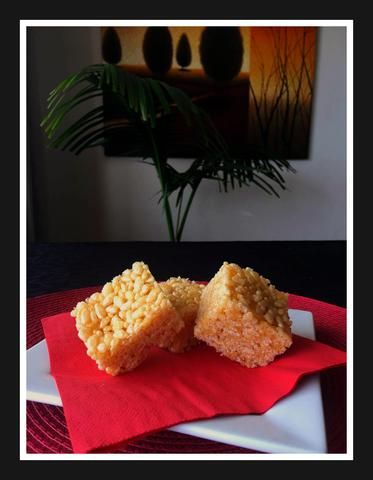 Honey Rice Bubble Slice  Simple and low cost family favorite.   Popular at children's birthday parties.
