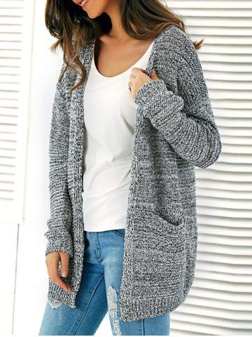 GET $50 NOW | Join RoseGal: Get YOUR $50 NOW!http://www.rosegal.com/sweaters/twin-pockets-heathered-knitted-cardigan-692494.html?seid=5795946rg692494