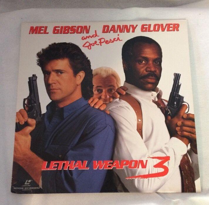 Lethal Weapon 3 (Laserdisc, Widescreen) Mel Gibson, Danny Glover 85391247562   eBay