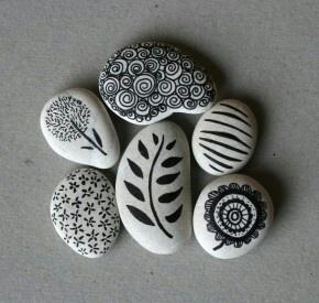 stenen decoratie
