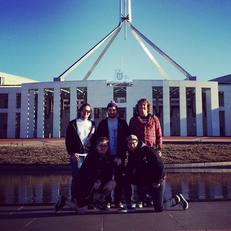 We played a gig in Canberra - accidentally got too drunk to drive, drank wine in the parliament house carpark, froze half to death