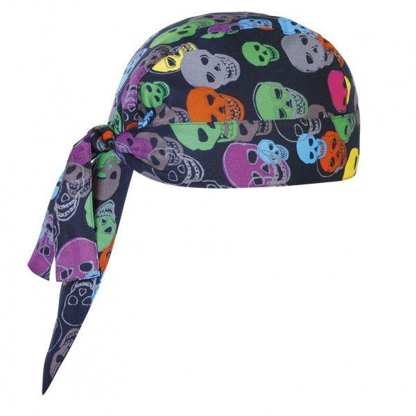 #Bandana cocina  color skulls