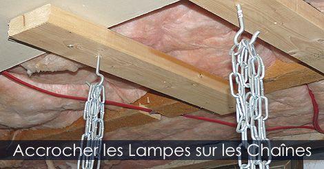Comment suspendre des lampes horticoles. Instructions : http://www.jardinage-quebec.com/guide/semis-interieur/partir-ses-semis-6.html