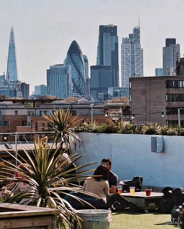 Roof Top Oasis #netil360 rooftop bar/cafe/art/ workspace #london