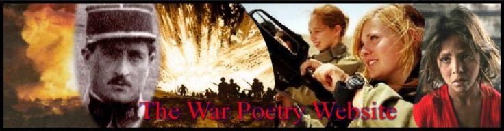 The War Poetry Website