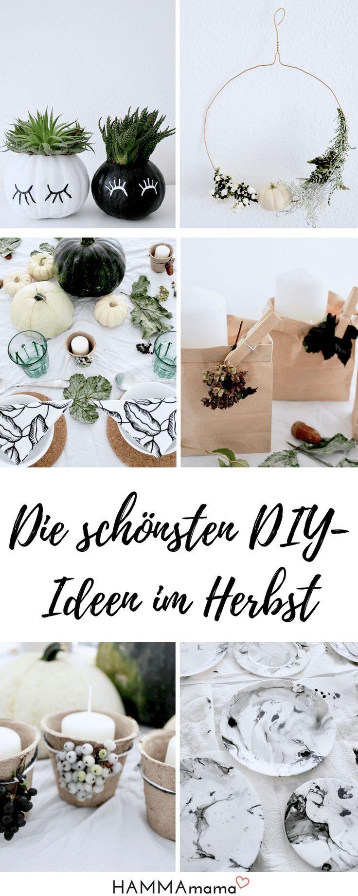 Ideen Fur Diy Herbst Deko Dekoration Aus Der Natur Fur Den Tisch