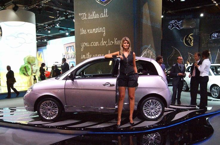 Lancia at the Francfort Motorshow 2009
