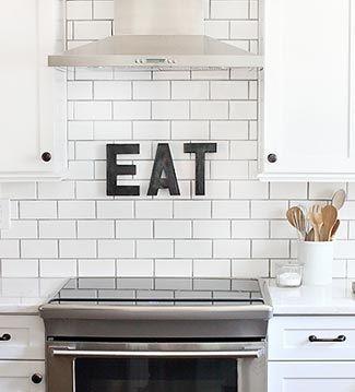 Las letras estan en todas las paredes!