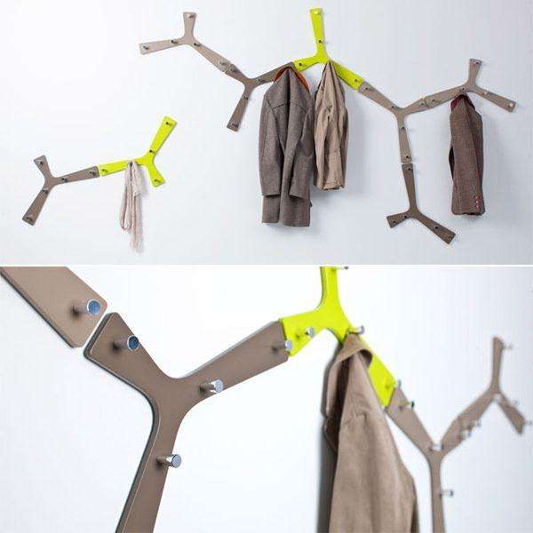 15 Weird And Wacky Coat Hook Designs