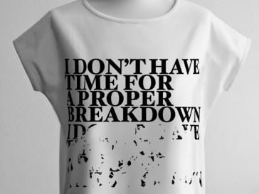 Koszulka I DONT HAVE TIME... | SHOWROOM