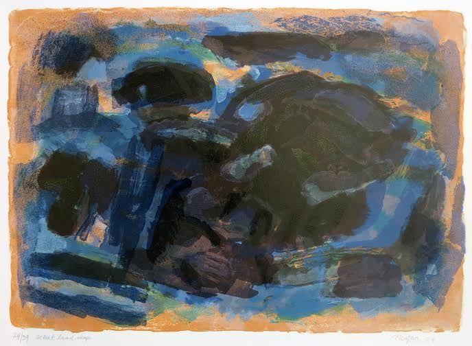 Carl Nesjar U.T. brun/svart/blå