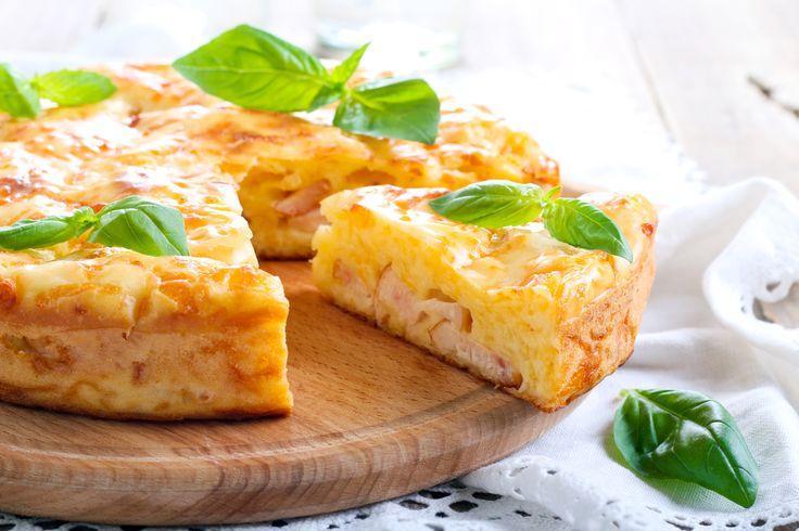 Recette de Clafoutis au jambon et au Boursin®. Facile et rapide à réaliser, goûteuse et diététique. Ingrédients, préparation et recettes associées.