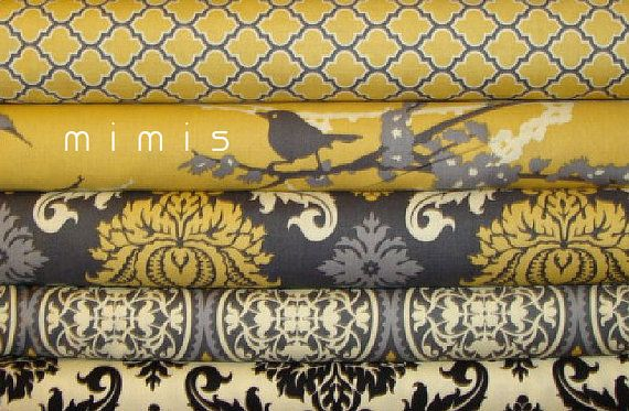 I want to make curtains,  pin boards,  pillows,  sea cushions and much more with these awesome fabrics for our living room.  Matches perfectly!