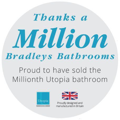 One million reasons to choose Utopia!