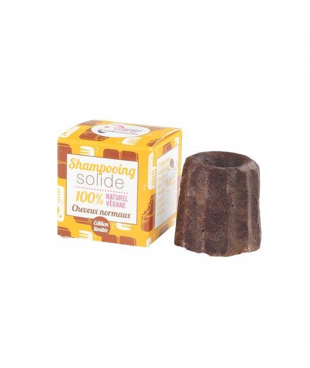 Lamazuna - Shampoing solide cheveux normaux au chocolat
