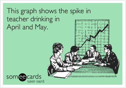 And also June...and any other of the school months.. this year anyway!