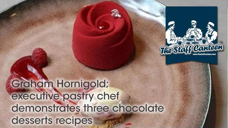 Executive pastry chef for Hakkasan Group, Graham Hornigold, prepares three chocolate recipes in association with Callebaut - salted cashew nuts and milk choc...