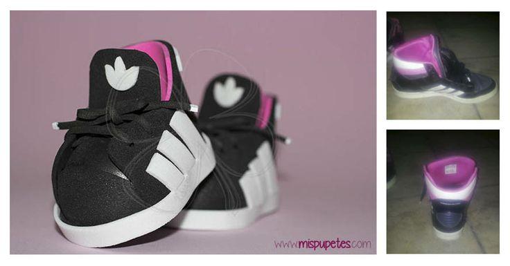 Playeros Adidas para Fofucha, personalizados http://mispupetes.com