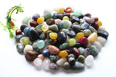 2 kg Trommelsteine Edelsteine ~ Halbedelsteine bunt gemischte Mineralien 25-50mm