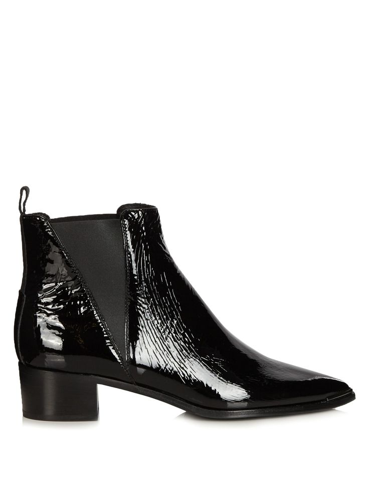 the Jensen patent leather boots | Acne Studios | MATCHESFASHION.COM US