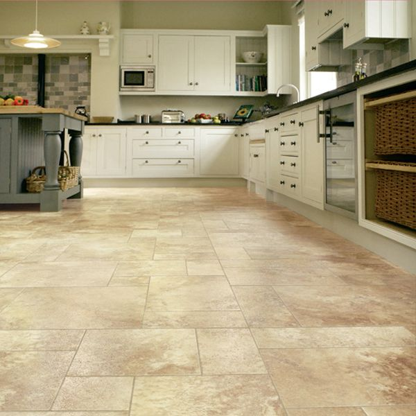 Beautiful Kitchen Vinyl Floor Tiles Ideas