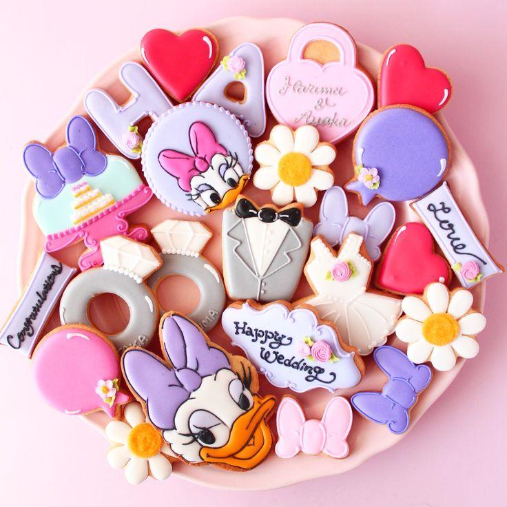 daisy duck cookies