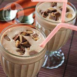 Молочный коктейль с шоколадным мороженым
