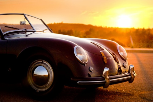 Porsche 356 In The Sunset Significant Automobiles