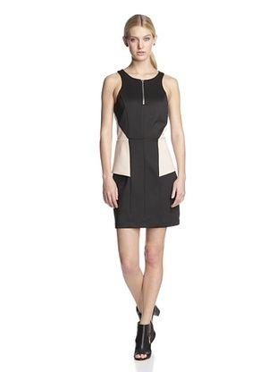 66% OFF W118 by Walter Baker Women's Starr Dress (Black/Nude)