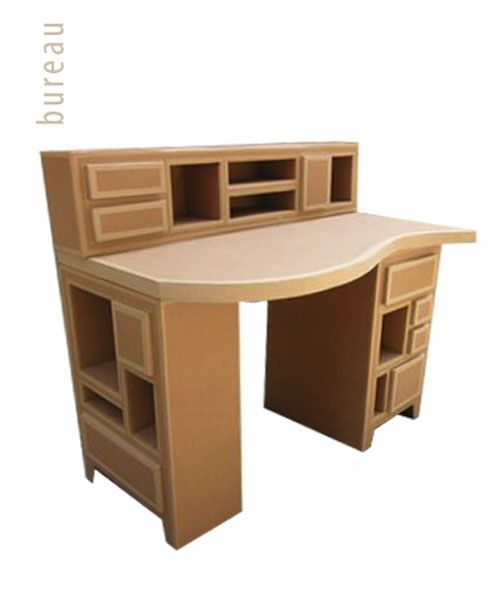 168 best cardboard furniture images on pinterest - Muebles en carton ...