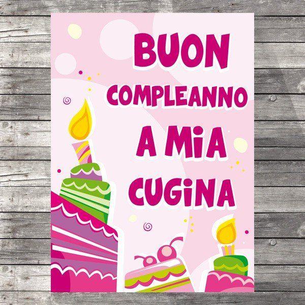 Buon Compleanno A Mia Cugina Con Immagini Buon Compleanno