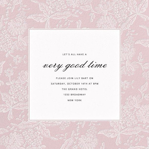 1000 Images About Bridal Shower Invitations On Pinterest Oscar De La Renta