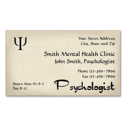 191 best mental health counselor business cards images on pinterest psychologist mental health business card colourmoves