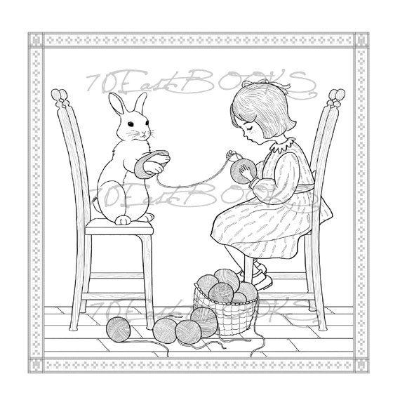 picture book hare colored - photo #24