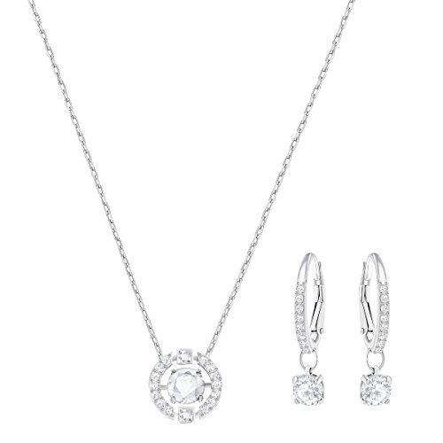 HERMOSO Luckly Mouse Pendant necklace for women, Made with Swarovski Crystal,Platinum plating jewellery chain 16