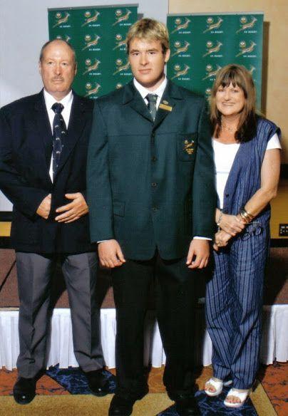 Johan HP Strauss and son Johan JC Strauss 2005  U19 World Cup Winners @ KingsPark vs NZ