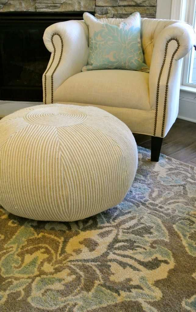 Pouf Envy And What I Did About It Diy Home Decor Ideas