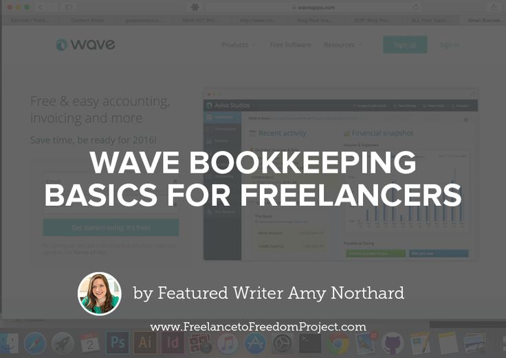 Why Wave? There are a bunch of different online bookkeeping options available, but the reason I'm sharing about Wave is because it's completely free. You're probably thinking, what's the catch? There are some sidebar ads on the site so that Wave can make money, but they aren't in your face and I've actually learned to …