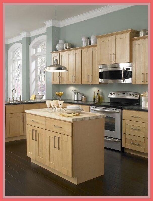 57 Reference Of Kitchen Paint Colors With Light Cabinets Maple Kitchen Cabinets Best Kitchen Colors Light Wood Cabinets