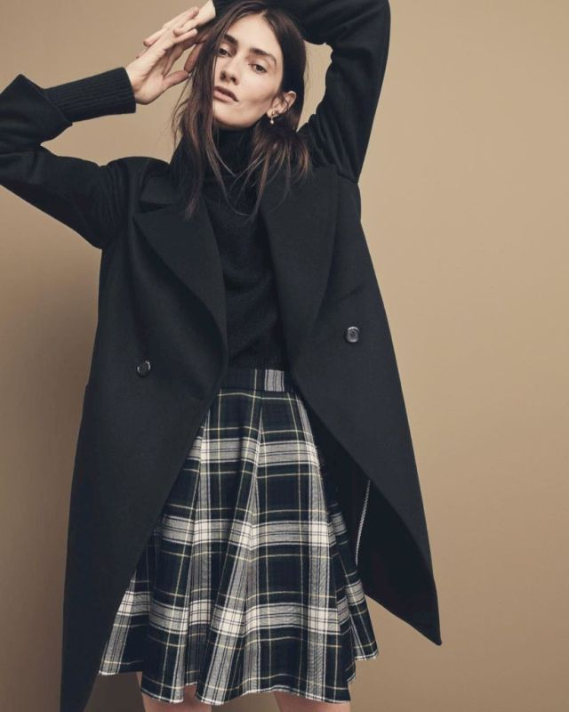 3bb007bd41e Cool 49 Ways to Wear Plaid Skirt in Your Style http   stykul.