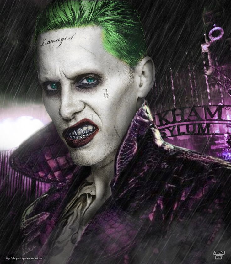 Jared Leto Joker Arkham by Bryanzap
