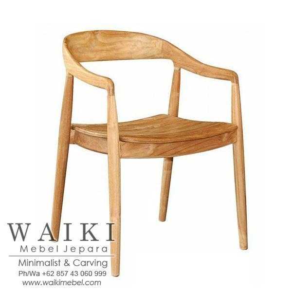 Kursi Scandinavian Danish Balkan Arm Chair Mid Century Furniture Jepara Kursi Retro Scandinavia